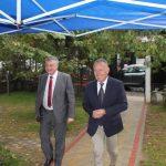 l'inauguration de l'ecole francaise internationale de Pristina 1